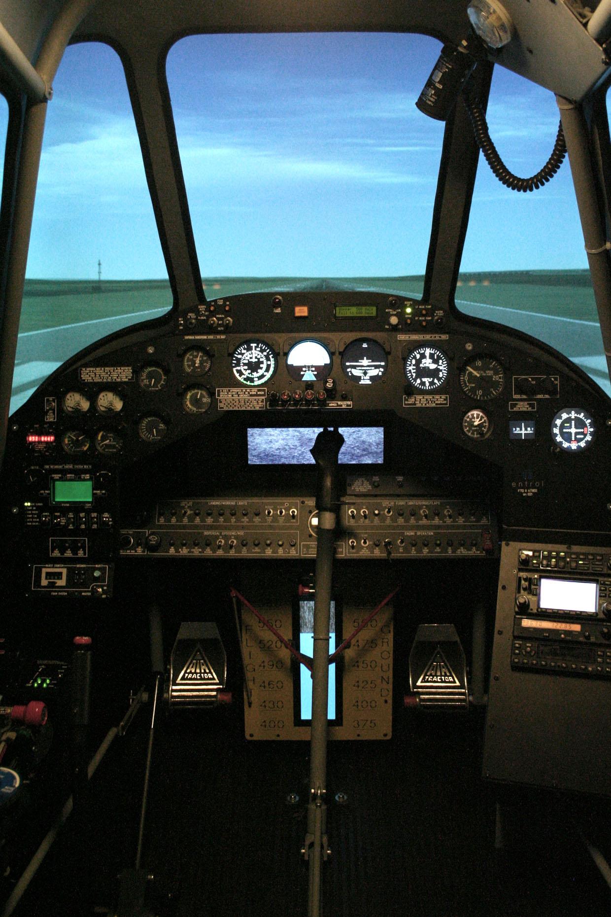 Simulador de Vuelo Avialsa