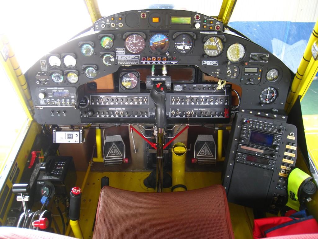 Taller Avionica panel