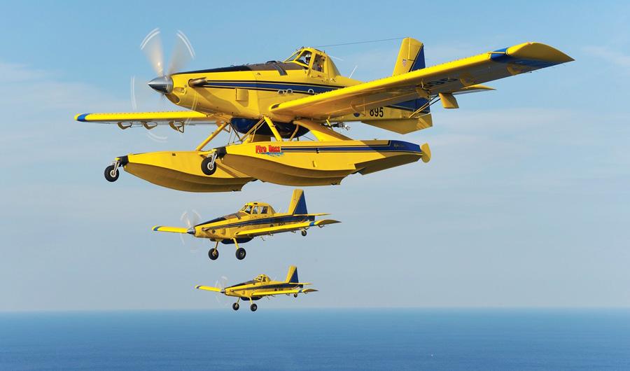 Control de flota aviones