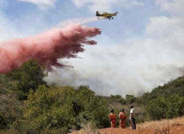 En la presente campaña Avialsa ha actuado ya en más de 400 incendios forestales