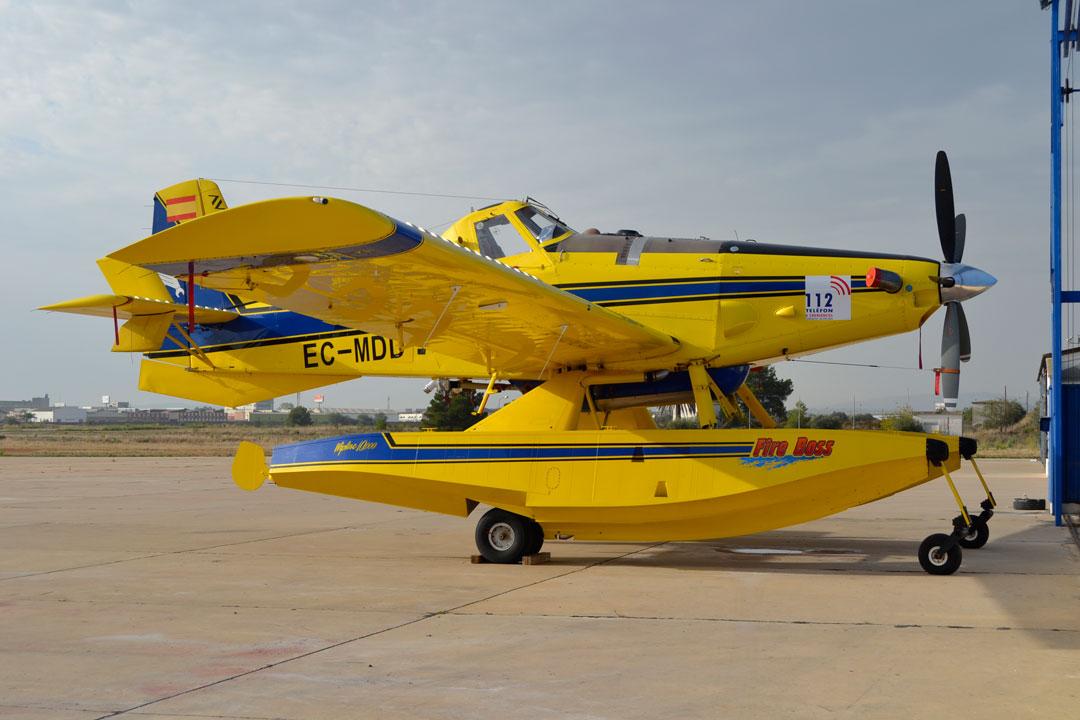 Del 7 al 22 de noviembre se va a impartir un curso para el Air Tractor AT-800 series