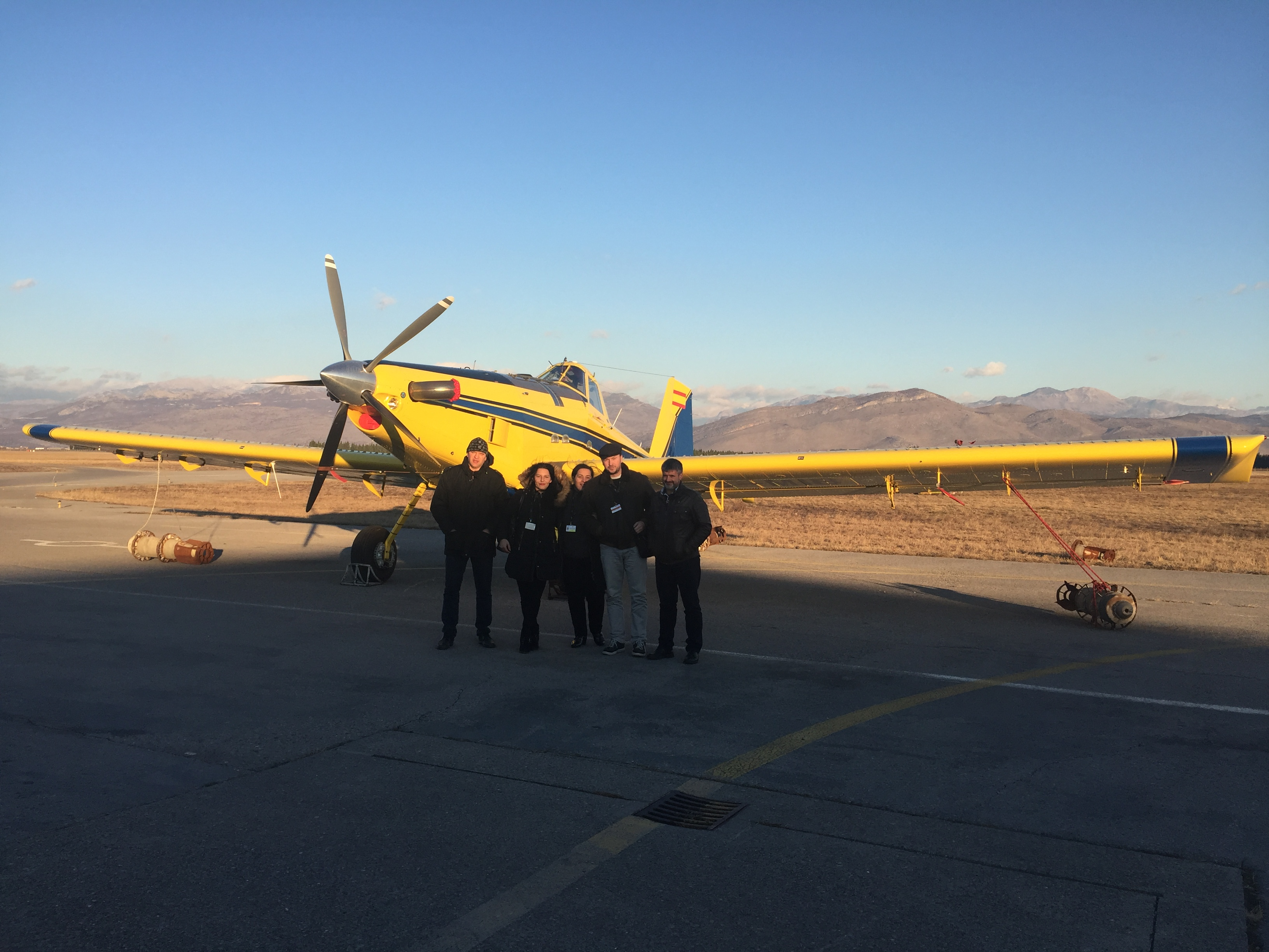 THE MINISTRY OF INTERIOR OF MONTENEGRO ACQUIRES AN AT-802A